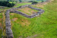 Milecastle 42 from the west