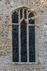 A 15th century traceried window