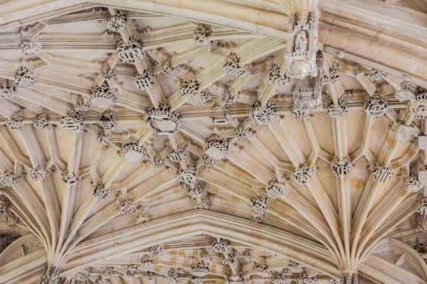 Bodleian Library photo, Divinity School vaulting, c. 1480