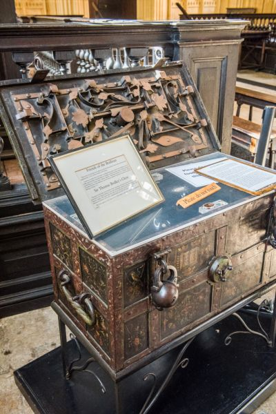 Bodleian Library photo, Thomas Bodley's Chest