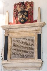 Dorchester, St Peter's Church, Thomas Hardy memorial, 1599