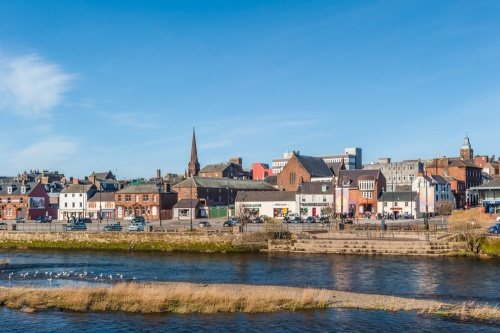 Dumfries and the River Nith