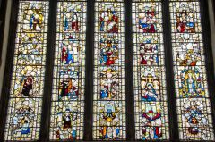 East Harling, St Peter & St Paul's Church, The magnificent 15th century east window