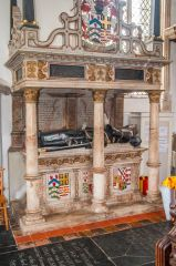 East Harling, St Peter & St Paul's Church, Sir Thomas and Lady Alice Lovell, d. 1604