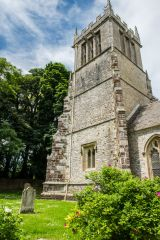 East Lulworth, St Andrew's Church, The 15th century west tower