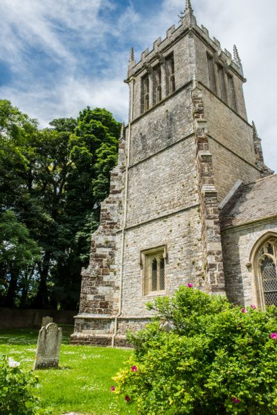 East Lulworth, St Andrew's Church photo, The 15th century west tower