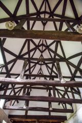15th century timber nave roof