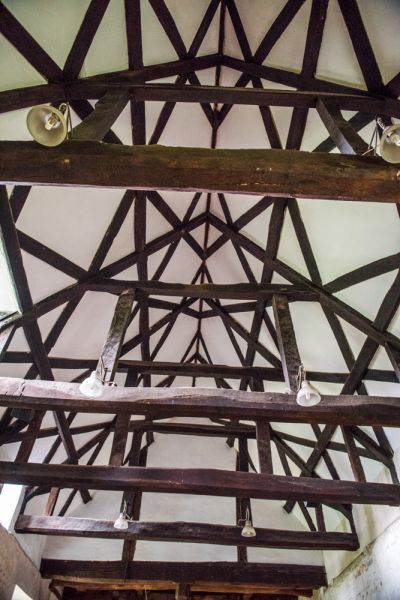 East Wellow, St Margaret's Church photo, 15th century timber nave roof