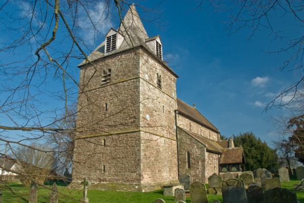 Eaton Bishop church from the south west