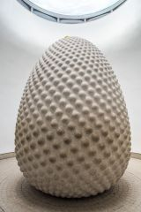 Eden Project, The 75 tonne seed sculpture in The Core