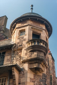 The turret of Lady Stairs House