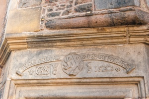 1622 inscription over the door