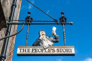 The People's Story Museum sign