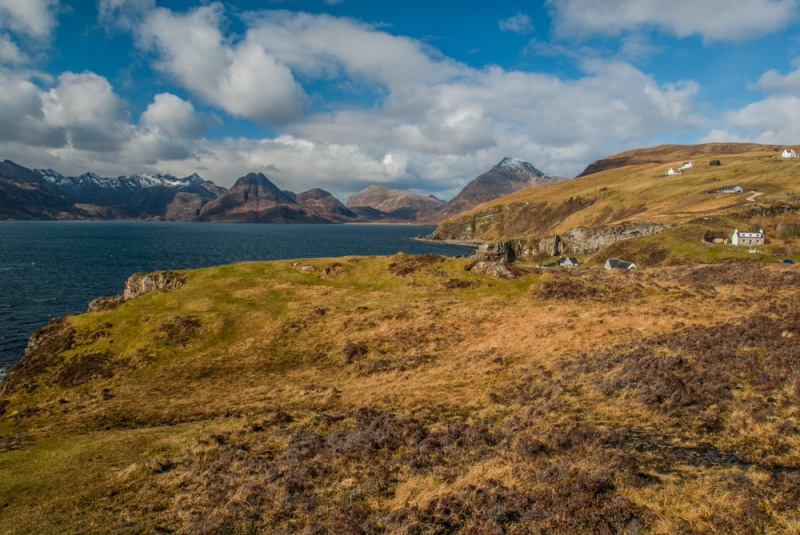 The start of the walk at Elgol
