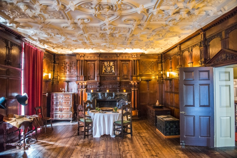 The Conspiracy Room at Elizabethan House