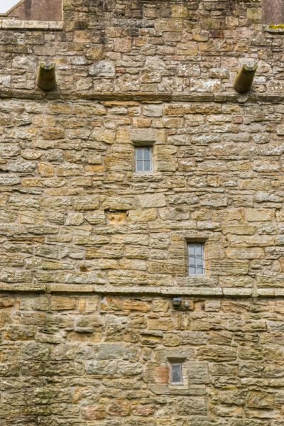 Elsdon Tower photo, Narrow lancet windows on the west facade