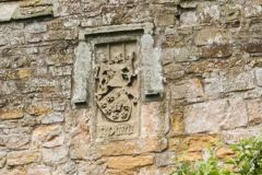 Coat of arms on the south wall
