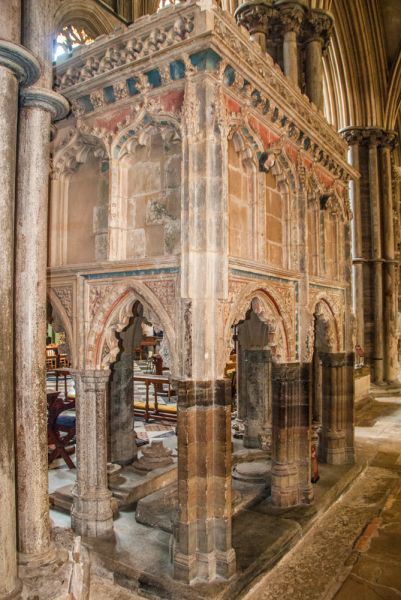 Ely Cathedral photo, Bishop Hotham's Tomb, c. 1337