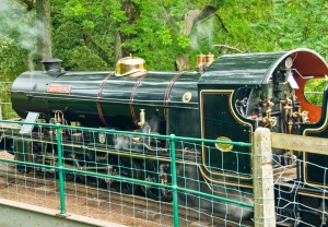 Ravenglass railway engine