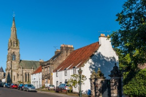 Picturesque Falkland village