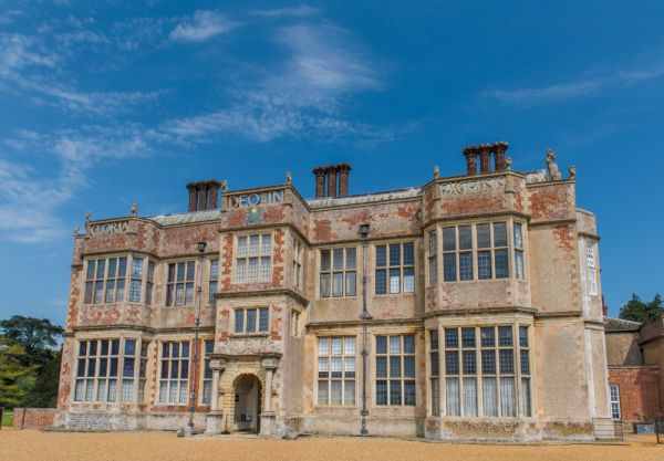 Felbrigg Hall  photo, The front facade of the Hall