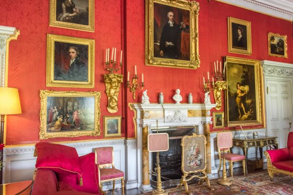 Felbrigg Hall  photo, The richly decorated Drawing Room