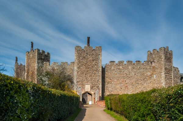 Framlingham Castle Suffolk Historic Suffolk Guide