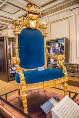 The Prince Regent's gilded chair