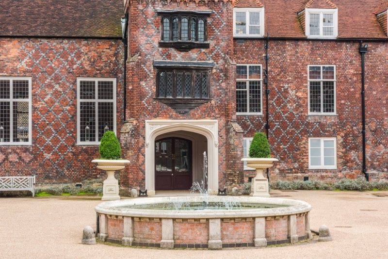 Fulham Palace, the Tudor Courtyard