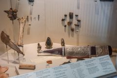 Fulham Palace Museum & Gardens, Museum displays including the Fulham Sword replica