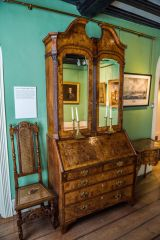 1730s furniture from the time Gainsborough lived here