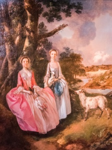 Mrs Mary Cobbold with her daughter Anne, 1752