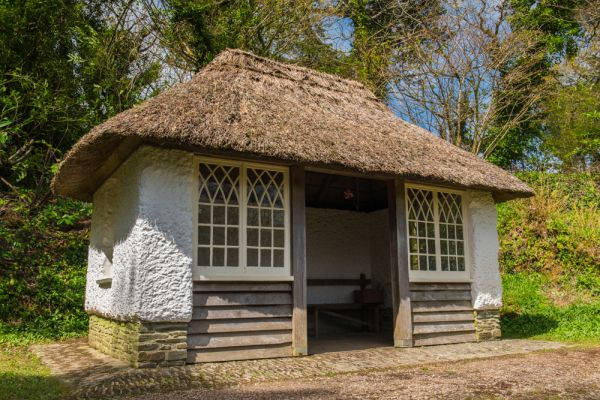 Glendurgan Gardens photo, The thatched schoolhouse