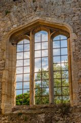 Godstow Abbey, The best-preserved chapel window