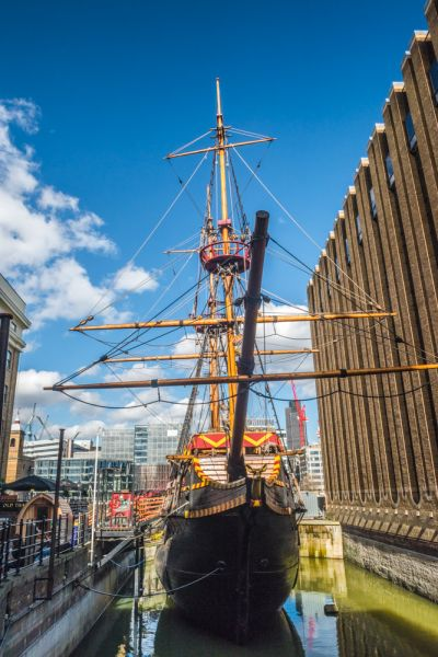Golden Hinde photo, View from the ship's bow