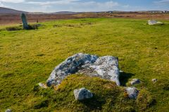 Gramsdale Standing Stones, The fallen stone slab