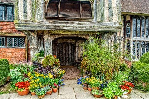 Great Dixter house entrance