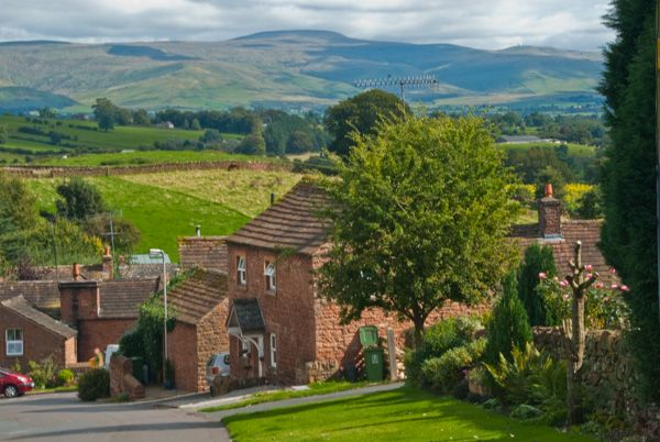 Eden Valley photo, Great Salkeld village