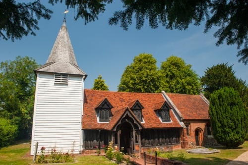 Greensted timber church