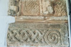 Late Saxon or early Norman carving