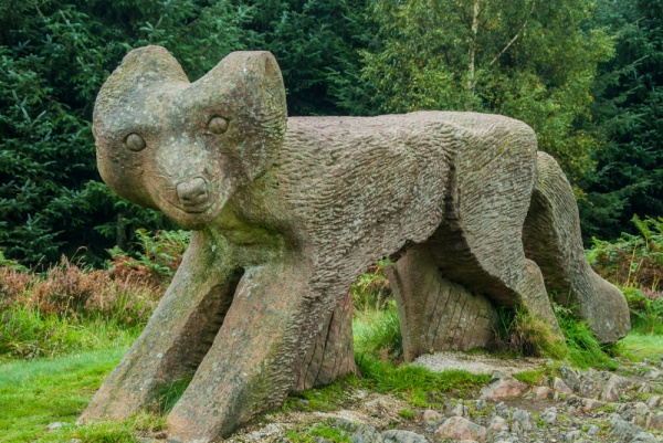 Sculptures abound in Grizedale Forest Park