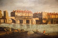 Samuel Scott (1702-1772), 'Old London Bridge'
