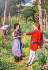 'The woodman's Daughter' by Millais, 1851