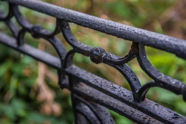 Gunnersbury Park Museum photo, An ornate 19th century iron fence