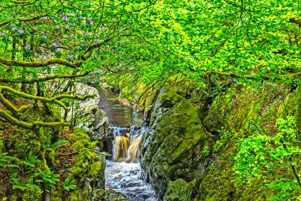 Waterfalls on the River Ystwyth