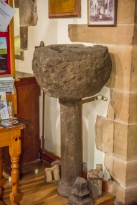 7th century font used by St Paulinus