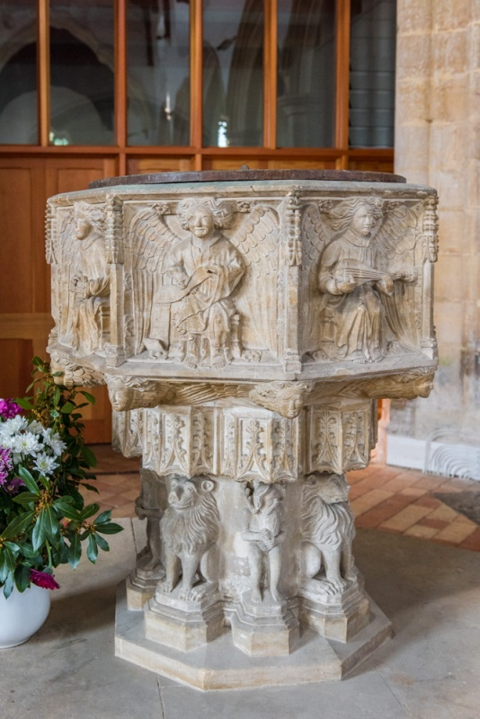The superb 15th century font