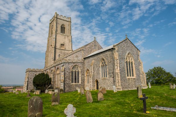 Happisburgh photo, The medieval parish church of St Mary