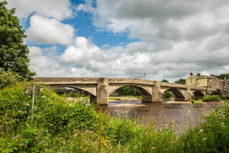 The 18th century bridge at Haydon Bridge