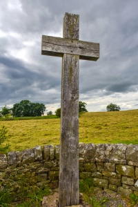 The Heavenfield cross